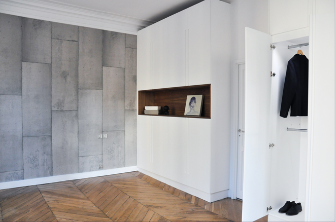 Apartment remodeling, rue J.-P. Timbaud, Paris | FØLSOM Studio