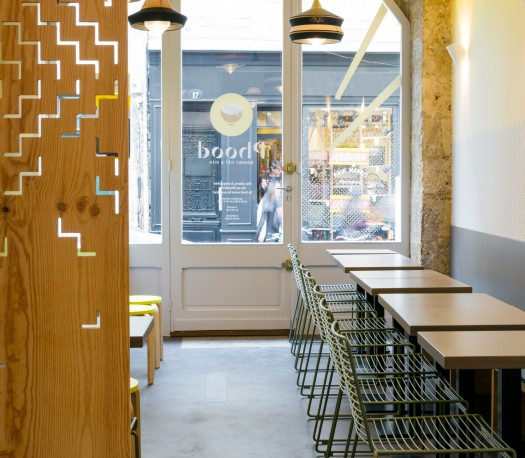 Design global pour franchise de restaurant