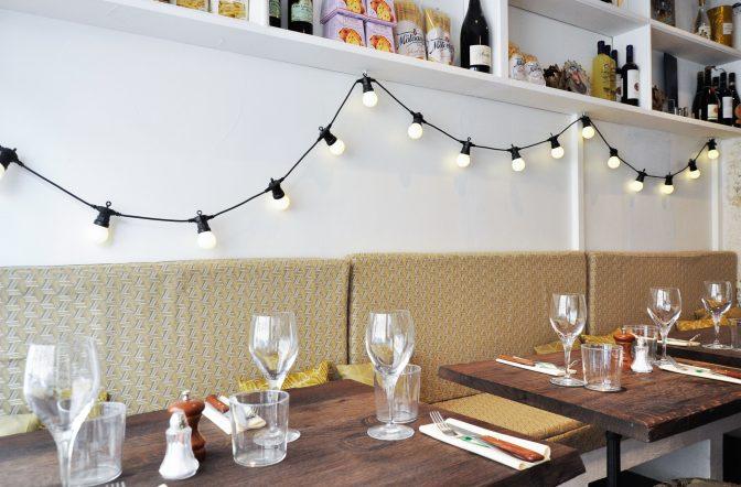 Design de restaurant italien à Paris, La Cicciolina