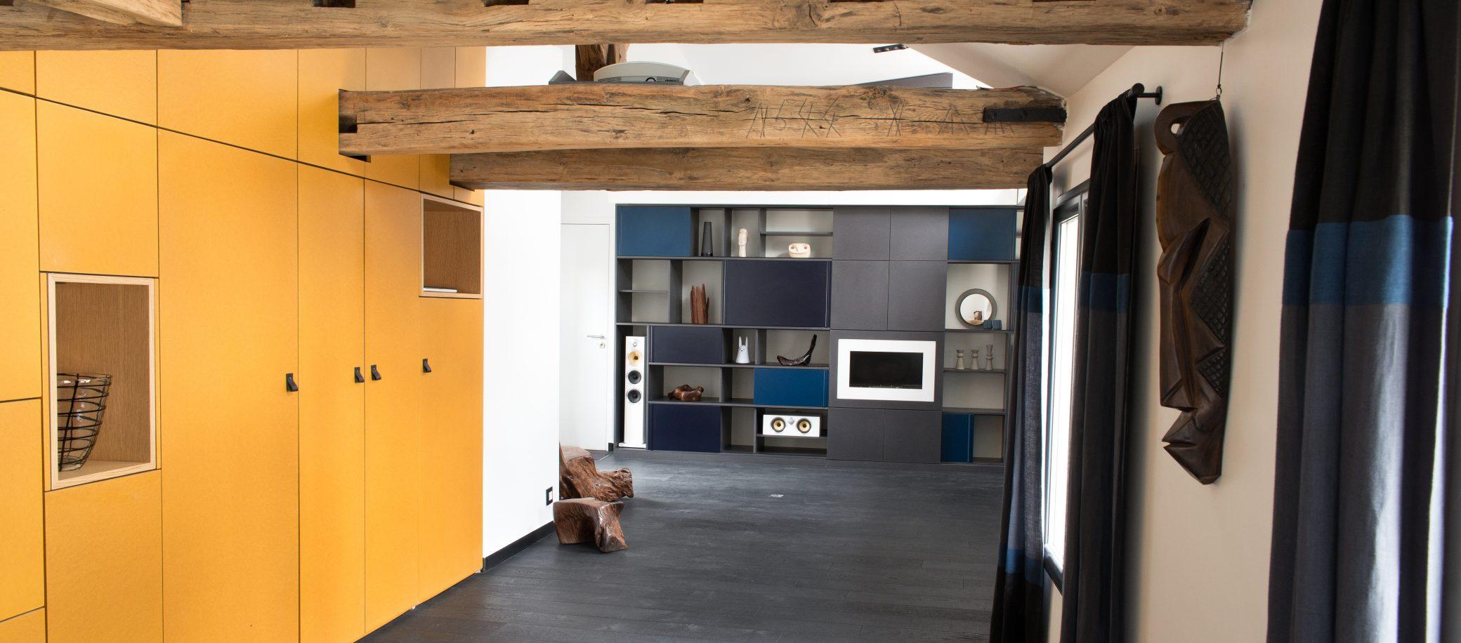 r novation d 39 appartement rue d 39 aboukir paris f lsom studio. Black Bedroom Furniture Sets. Home Design Ideas