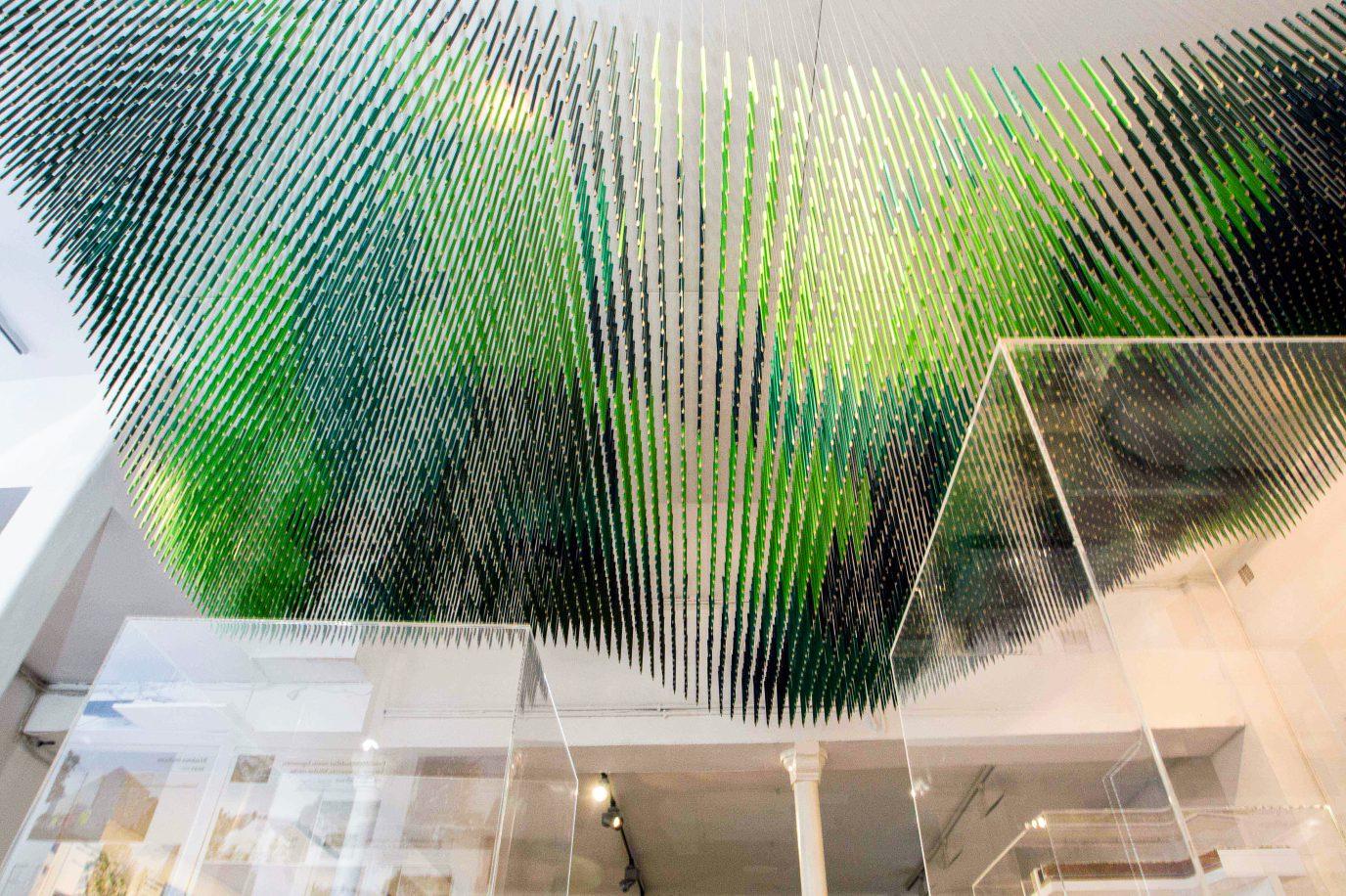 Scénographie d'exposition de l'agence d'architecture S&AA.