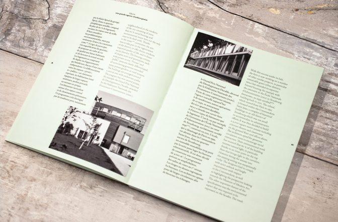 Célèbre Mise en page d'un livre d'architecture pour S&AA ✌ FØLSOM Studio WX35