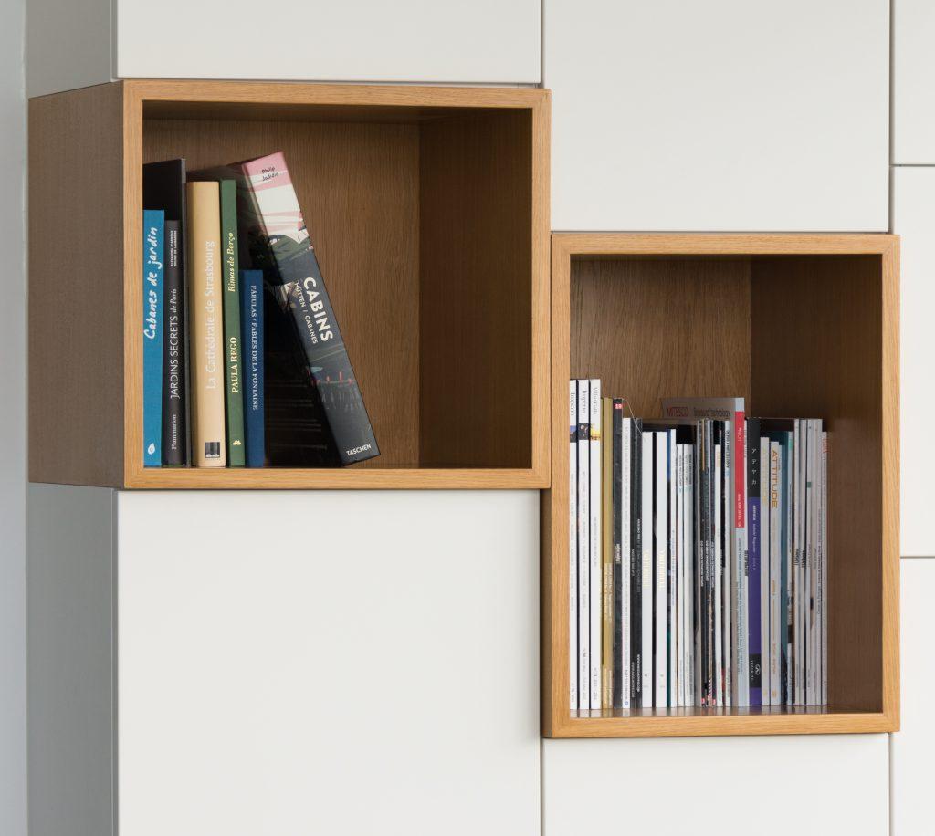 Bibliothèque de salon